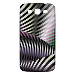 Fractal Zebra Pattern Samsung Galaxy Mega 5 8 I9152 Hardshell Case  by Simbadda