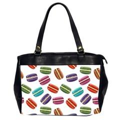 Macaroons  Office Handbags (2 Sides)  by Valentinaart