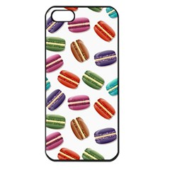 Macaroons  Apple Iphone 5 Seamless Case (black) by Valentinaart