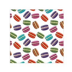 Macaroons  Small Satin Scarf (square) by Valentinaart