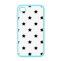Stars Pattern Apple Iphone 4 Case (color) by Valentinaart