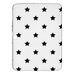 Stars Pattern Samsung Galaxy Tab 3 (10 1 ) P5200 Hardshell Case  by Valentinaart