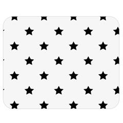 Stars Pattern Double Sided Flano Blanket (medium)  by Valentinaart