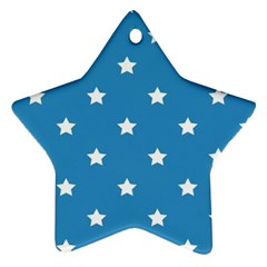 Stars Pattern Ornament (star) by Valentinaart