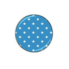 Stars Pattern Hat Clip Ball Marker by Valentinaart