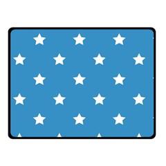 Stars Pattern Fleece Blanket (small) by Valentinaart