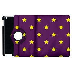 Stars Pattern Apple Ipad 3/4 Flip 360 Case by Valentinaart