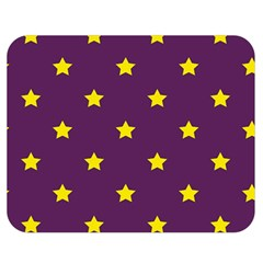 Stars Pattern Double Sided Flano Blanket (medium)  by Valentinaart