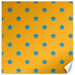Stars Pattern Canvas 16  X 16   by Valentinaart