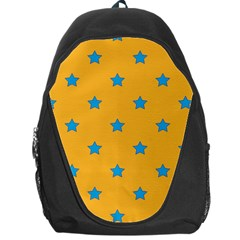 Stars Pattern Backpack Bag by Valentinaart