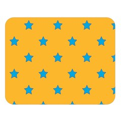Stars Pattern Double Sided Flano Blanket (large)  by Valentinaart