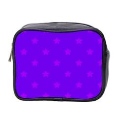 Stars Pattern Mini Toiletries Bag 2 Side by Valentinaart