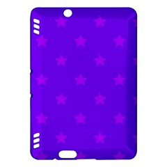 Stars Pattern Kindle Fire Hdx Hardshell Case by Valentinaart