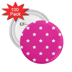 Stars Pattern 2 25  Buttons (100 Pack)  by Valentinaart