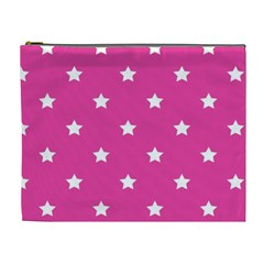 Stars Pattern Cosmetic Bag (xl) by Valentinaart
