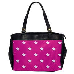 Stars Pattern Office Handbags by Valentinaart