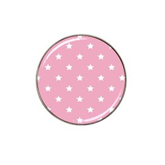 Stars Pattern Hat Clip Ball Marker (4 Pack) by Valentinaart