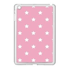 Stars Pattern Apple Ipad Mini Case (white) by Valentinaart