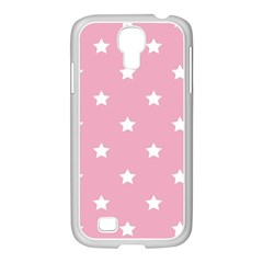Stars Pattern Samsung Galaxy S4 I9500/ I9505 Case (white) by Valentinaart