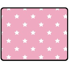 Stars Pattern Double Sided Fleece Blanket (medium)  by Valentinaart