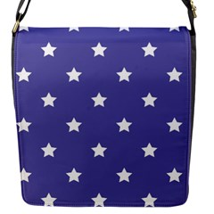 Stars Pattern Flap Messenger Bag (s) by Valentinaart