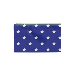 Stars Pattern Cosmetic Bag (xs) by Valentinaart