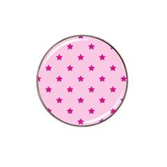 Stars Pattern Hat Clip Ball Marker (4 Pack) by Valentinaart
