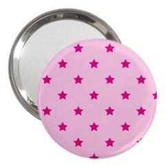 Stars Pattern 3  Handbag Mirrors by Valentinaart
