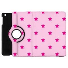Stars Pattern Apple Ipad Mini Flip 360 Case by Valentinaart