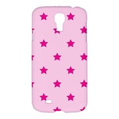 Stars Pattern Samsung Galaxy S4 I9500/i9505 Hardshell Case by Valentinaart