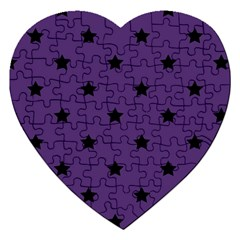 Stars Pattern Jigsaw Puzzle (heart) by Valentinaart