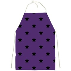 Stars Pattern Full Print Aprons by Valentinaart