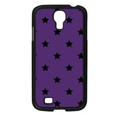 Stars Pattern Samsung Galaxy S4 I9500/ I9505 Case (black) by Valentinaart