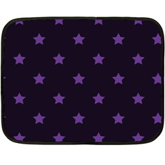Stars Pattern Double Sided Fleece Blanket (mini)  by Valentinaart