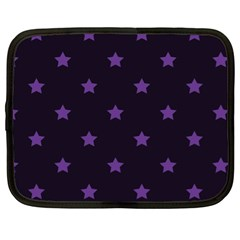 Stars Pattern Netbook Case (xl)  by Valentinaart