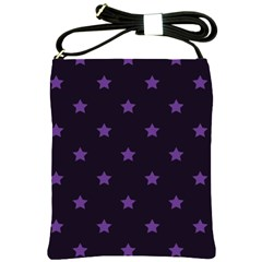 Stars Pattern Shoulder Sling Bags by Valentinaart