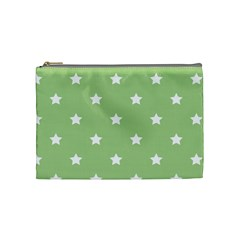 Stars Pattern Cosmetic Bag (medium)  by Valentinaart