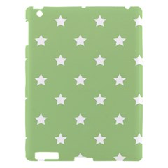 Stars Pattern Apple Ipad 3/4 Hardshell Case by Valentinaart