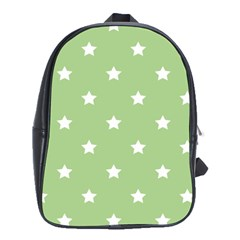 Stars Pattern School Bags (xl)  by Valentinaart