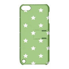 Stars Pattern Apple Ipod Touch 5 Hardshell Case With Stand by Valentinaart