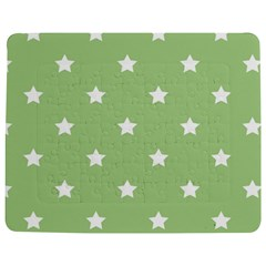 Stars Pattern Jigsaw Puzzle Photo Stand (rectangular) by Valentinaart