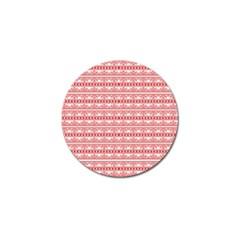 Pattern Golf Ball Marker (4 Pack) by Valentinaart