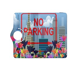 No Parking  Kindle Fire Hdx 8 9  Flip 360 Case by Valentinaart