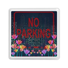 No Parking  Memory Card Reader (square)  by Valentinaart