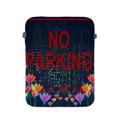 No Parking  Apple Ipad 2/3/4 Protective Soft Cases by Valentinaart