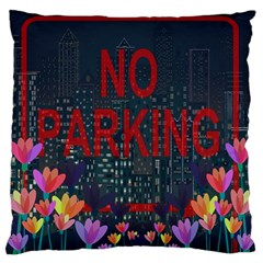 No Parking  Standard Flano Cushion Case (one Side) by Valentinaart