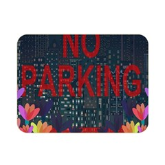 No Parking  Double Sided Flano Blanket (mini)  by Valentinaart