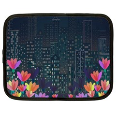 Urban Nature Netbook Case (xxl)  by Valentinaart