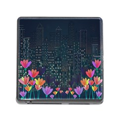 Urban Nature Memory Card Reader (square) by Valentinaart