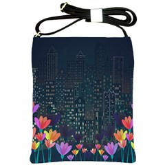 Urban Nature Shoulder Sling Bags by Valentinaart